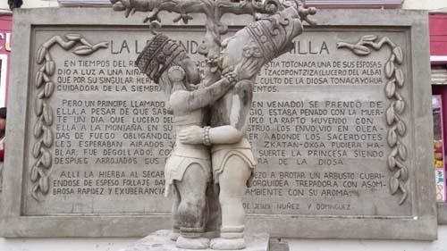 escultura historia vainilla