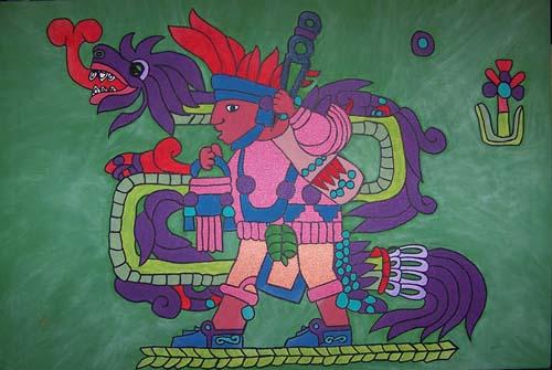 Quetzalcóatl y el conejo
